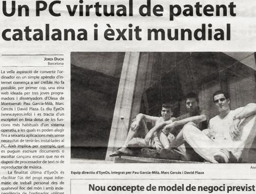 EyeOs: un PC virtual de patente catalana y éxito mundial