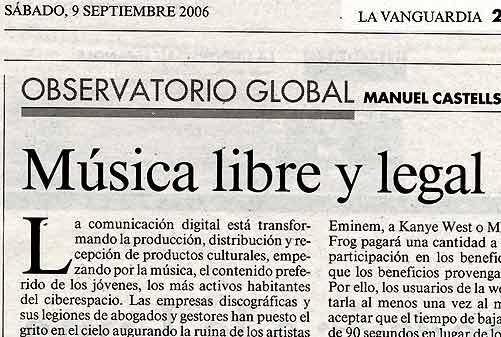música libre y legal