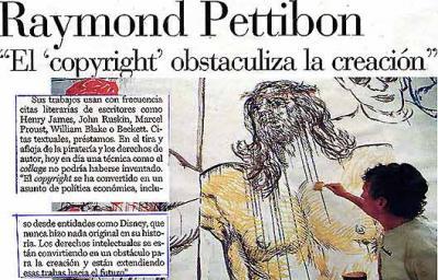 """""""El """"copyright"""" obstaculiza la creación"""""""