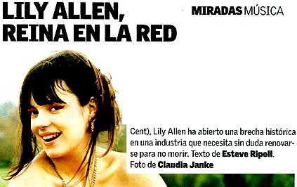 el caso Lily Allen