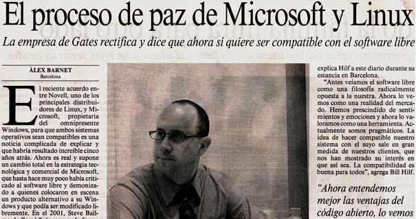 Microsoft quiere ser compatible con el software libre